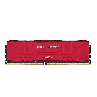 Crucial Ballistix 8Gb Ddr4 Udimm 3200Mhz Desktop Gaming Memory