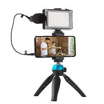 Kit vlogging video fotocamera smartphone