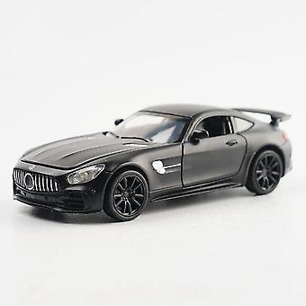 1:32 AMG GTR car alloy car model simulation car decoration collection gift toy Die casting model