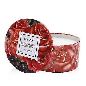 Voluspa 2 Wick Tin Candle - Blackberry Rose Oud 170g/6oz