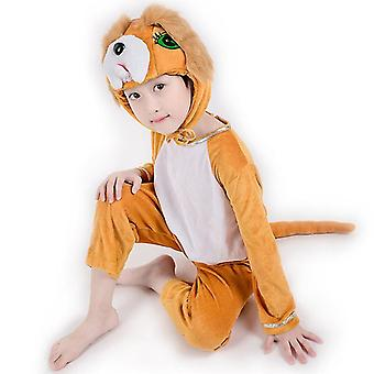 M (120cm) yellow dog cosplay suit costume stage clothes holiday clothes cai559