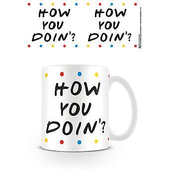 Friends - How you Doin' - Dots Mug