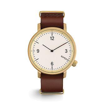 KOMONO Magnus ii saddle brown - reloj unisex