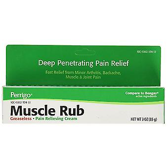 Perrigo Muscle Rub Cream, 3 Oz