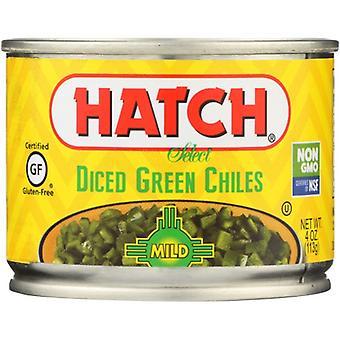 Hatch Green Chili Dice Mild, Case of 24 X 4 Oz