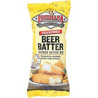 ルイジアナフィッシュフライミックスビールバッター、12 X 8.5オンスのケース