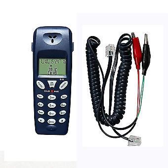 الهاتف الجديد بعقب الاتصالات أداة شبكة الكابل مجموعة المهنية اختبار جهاز sm48361