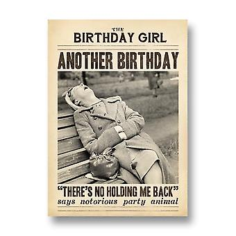 Pigment Another Birthday Theres No Holding Me Back Card Dv1026a