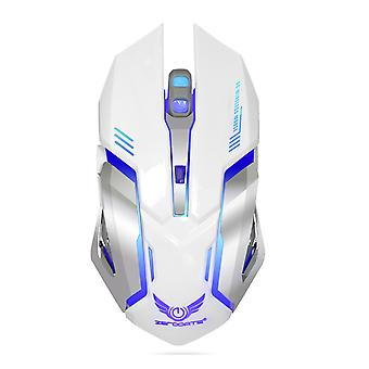 2.4g Colorful Luminous Wireless Charging Gaming Mouse