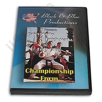 Torneo Karate Championship Bo &Sword Forms Kata Dvd Casey &Butch Marks -Vd6901A