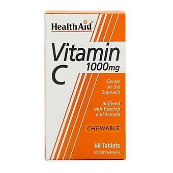 HealthAid Vitamin C 1000mg Kautabletten 60 (801140)