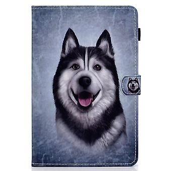 Case For Ipad Pro 11 2020 Cover With Auto Sleep/wake Pattern Magnetic - Husky Dog
