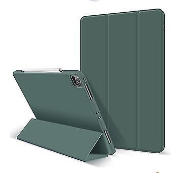 Suojakotelo iPad Pro 12.9inch kotelo lyijykynäpidikkeellä (TUMMANVIHREÄ)
