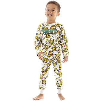 Teenage Mutant Ninja Turtles Boys All-Over Print Pyjama Set