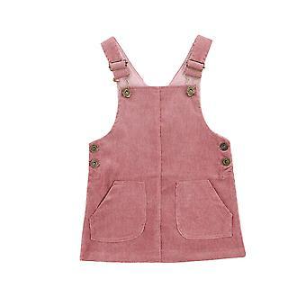 Baby 0-3y Vintage Newborn Infant Toddler Baby Corduroy Dress/clothing