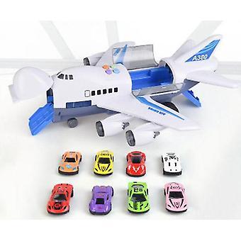 Pista de simulação de história de música da aeronave - brinquedo de avião de passageiros de grande porte