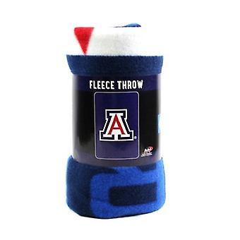 Arizona Wildcats NCAA Northwest Fleece Throw
