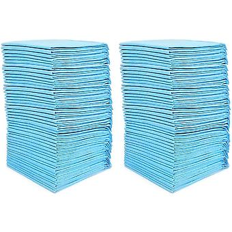 100 Pads Ultra Absorbency Pet Toilet Training Pads 33x45cm