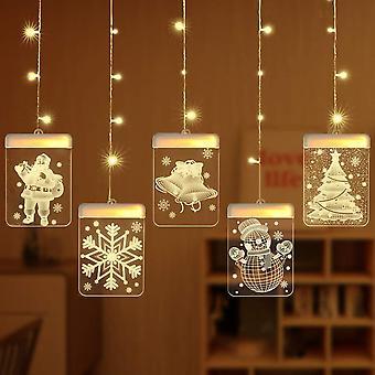 Lampki świąteczne LED, światła wróżek, nadają się do oświetlania ogrodów i balkonów