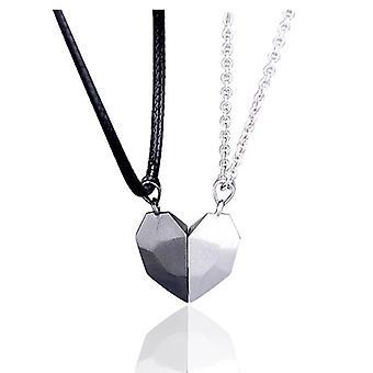 Dwie dusze Jedno serce Naszyjniki z zawieszką dla pary Wishing Stone