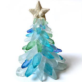 Emerald Christmas Tree Ornaments Shell Desktop Small Christmas Tree Ornaments