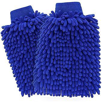 Gants de lavage de voiture, microfibre, kit de nettoyage imperméable à l'eau pour lave-auto