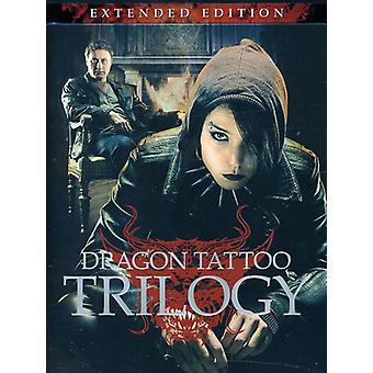 Dragon Tattoo trilogie: Extended Edition [DVD] USA import