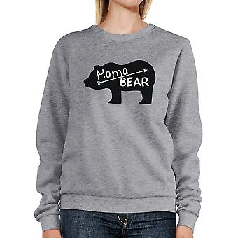 Mama Bear Gray Unisex Sweatshirt Unique Mothers Day Gift Ideas