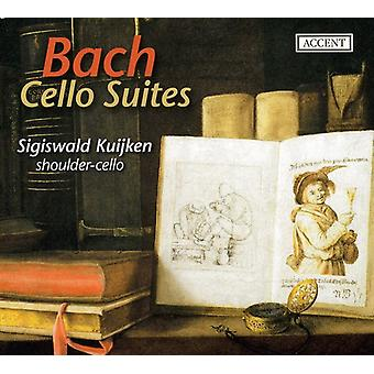 Sigiswald Kuijken - Bach: Cello Suites [CD] USA import