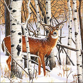 Ambiente Deer in the Forest Napkins