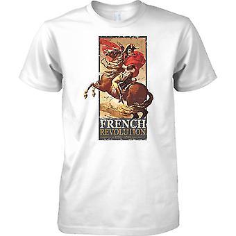 Napolean Bonaparte - franske revolusjonen i 1789-1799 - Kids T skjorte