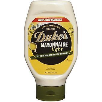 Maionese leggera del duca con Olive olio 18 oz bottiglia