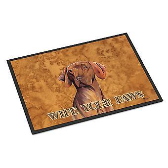 Carolines Treasures  SC9132MAT Vizsla Indoor or Outdoor Mat 18x27 Doormat
