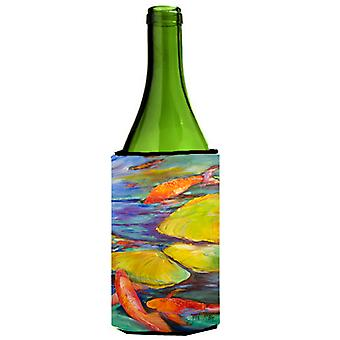 Carolines tesoros JMK1169LITERK Koi vino botella bebida aislador Hugger