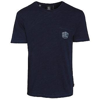Volcom Process Short Sleeve T-Shirt in Navy