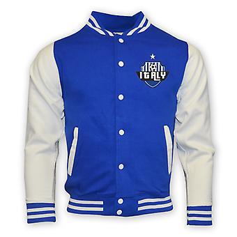 Italien College Baseball Jacket (blå)