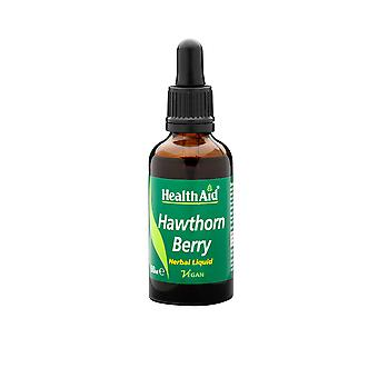 Health Aid Hawthorn Berry (Crataegus laevigata) Liquid, 50ml