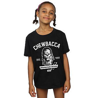 Star Wars Girls Chewbacca Collegiate T-Shirt