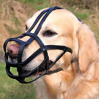 Trixie Bridle Leather Dog Muzzle