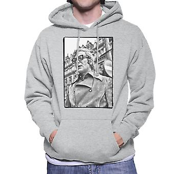 Michael Caine 1971 Get Carter Classic Shot Newcastle Upon Tyne Men's Hooded Sweatshirt
