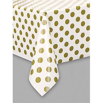Gold Dot Table cover