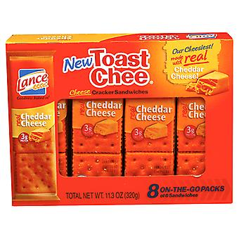 Lance Toast Chee Cheddar Cheese Sandwich Crackers
