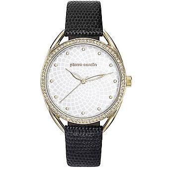 Pierre Cardin ladies watch wristwatch Drouot femme leather PC901872F03