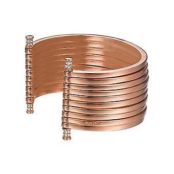 Joop kvinders armbånd rustfrit stål Rosé striber JPBA00001C580