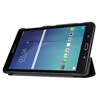 Preto de tampa inteligente Premium para Samsung Galaxy tab E 8.0 T377V T375
