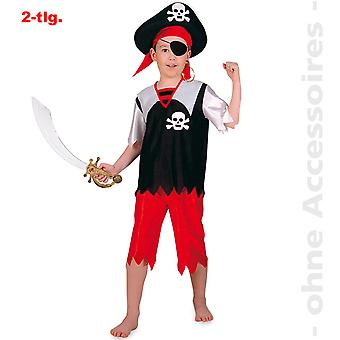 Pirat havet Bandit kostume børn kids sailor pirat barn kostume