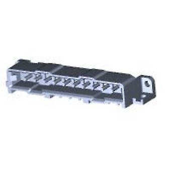 TE Connectivity Pin kabinet - PCB Metrimate samlede antal ben 10 kontakt afstand: 5 mm 207398-7 1 computer(e)