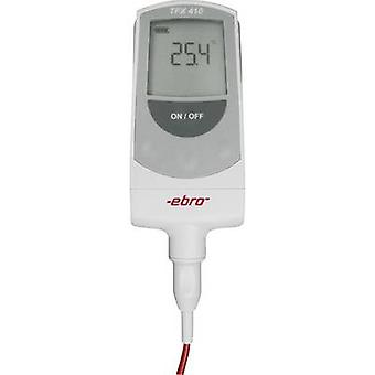 ebro TFX 410 Probe thermometer (HACCP) Temperature reading range -50 up to +300 °C Sensor type Pt1000 Complies with HACCP standards