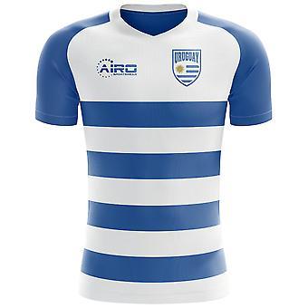 علم أوروغواي عام 2018-2019 مفهوم كرة القدم قميص