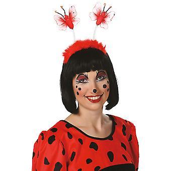 Lieveheersbeestje hoofdband pluche accessoire carnaval Halloween insect